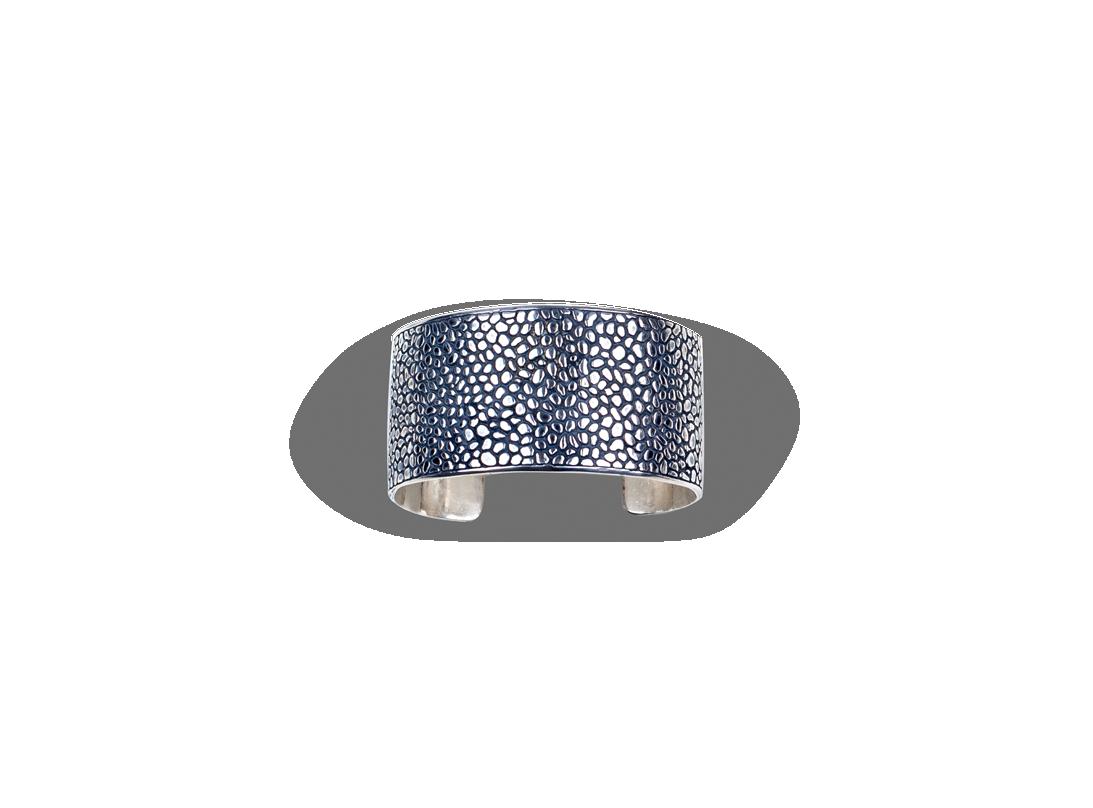 manta bracelet Oxidised  slide