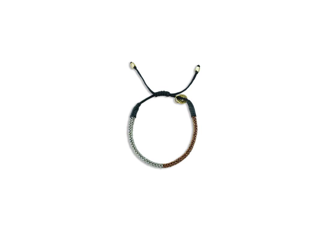 Seaweed Bracelet copper slide
