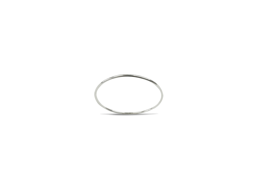 Upper arm bangle silver  slide