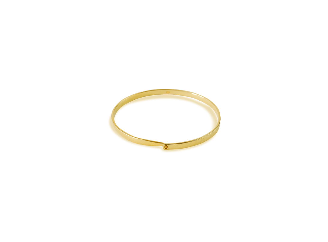 Current bracelet gold  slide