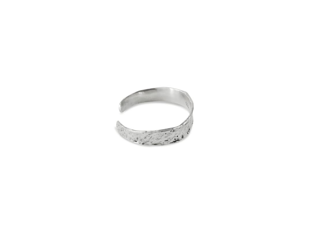 Lava bracelet silver  slide