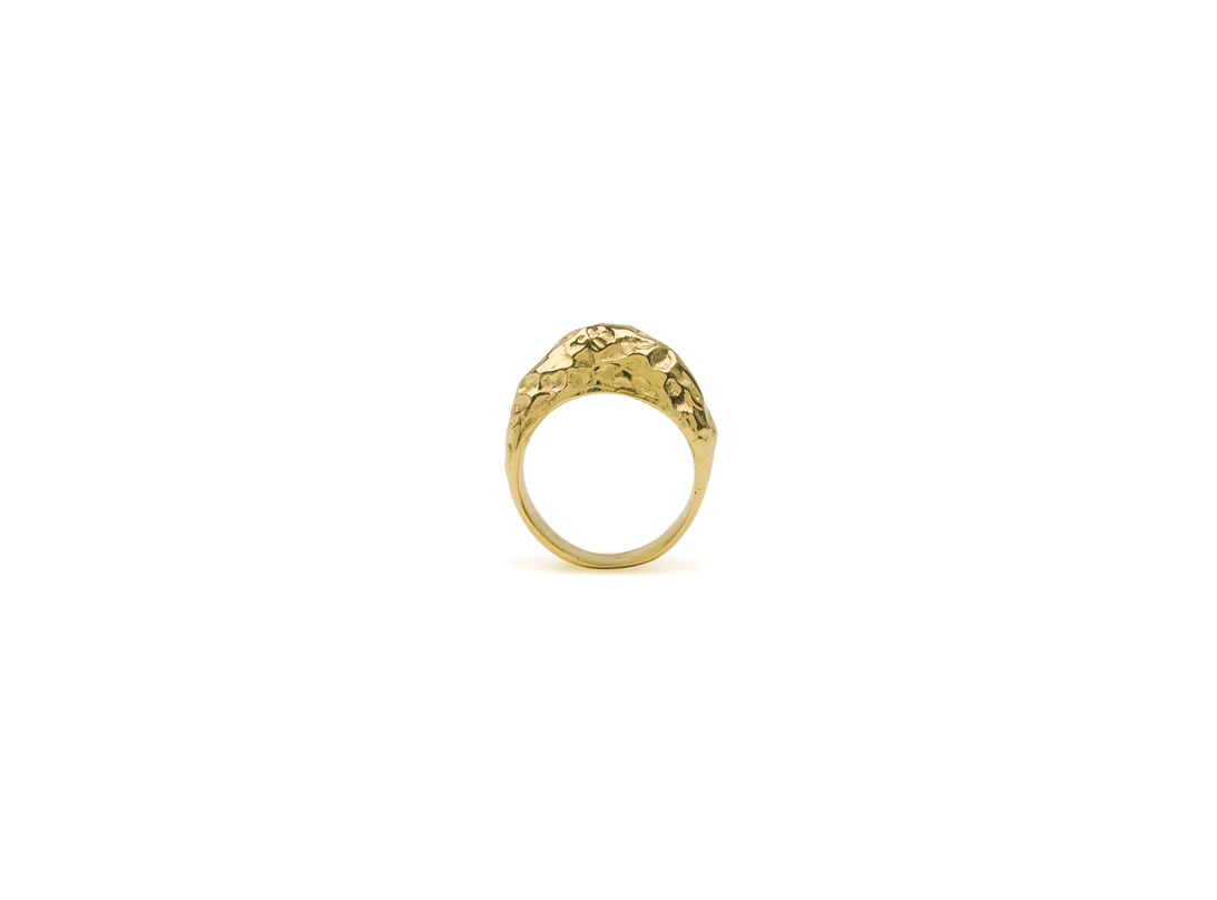 Volcanic Ring gold  slide