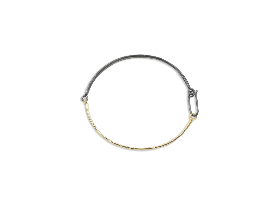 DUALITY BRACELET gold black slide