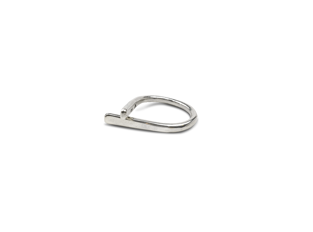 CONTRAST RING SMALL Silver slide