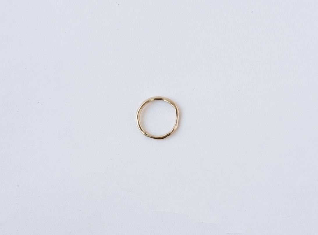 SHAPED BY NATURE RING GOLD slide
