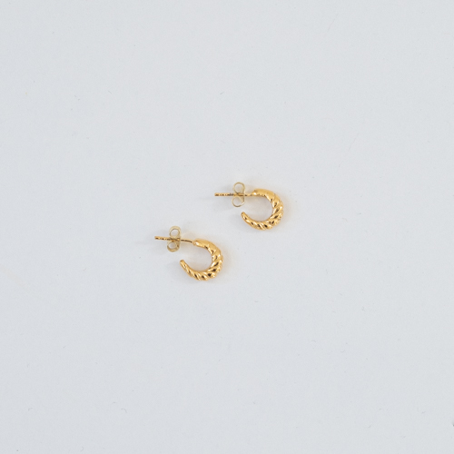 PRE-ORDER CARIDEA EARRINGS GOLD thumbnail